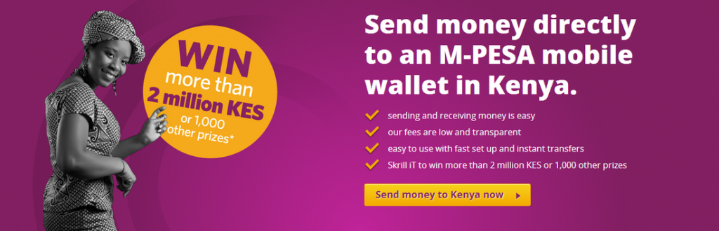 Skrill (Moneybookers) to M-Pesa Withdrawal Guide