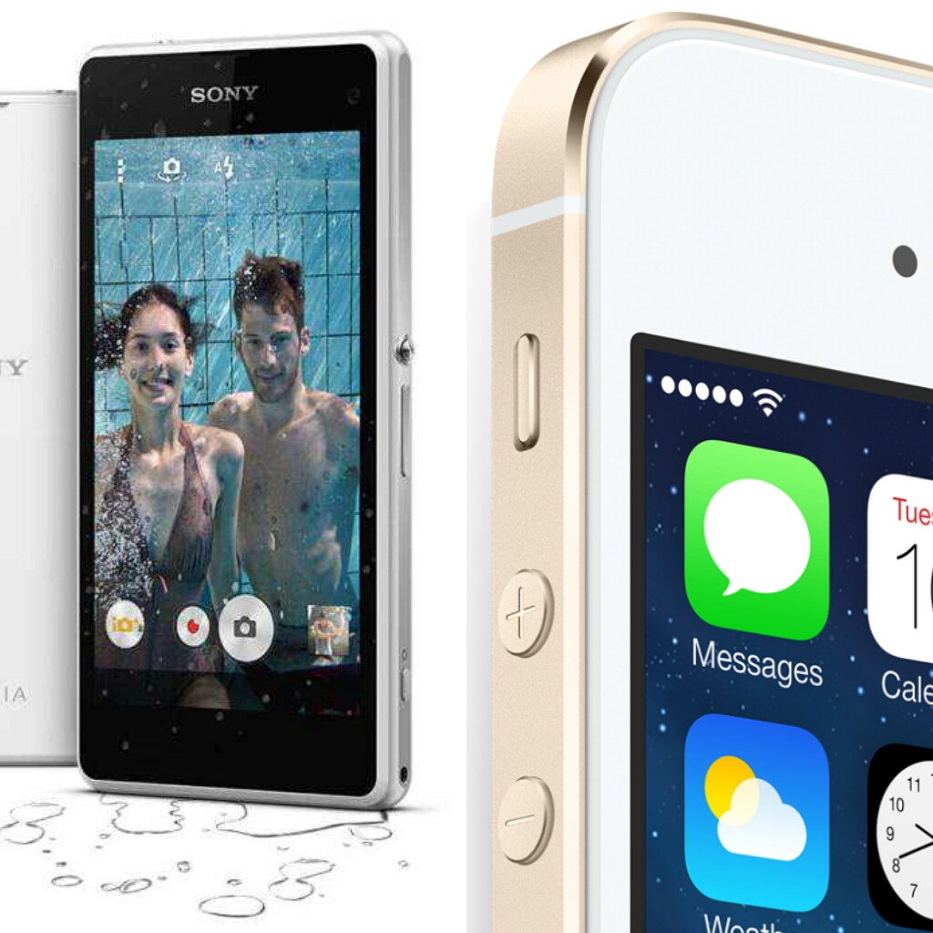 Compact Assault Sony Xperia Z1 Compact vs. iPhone 5S & Price in Kenya