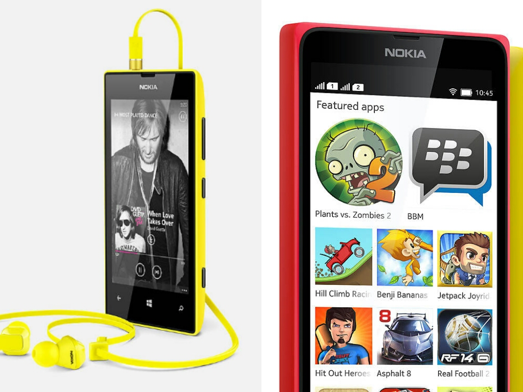 Epic Budget Phone Duel Nokia Lumia 520 vs. Nokia X