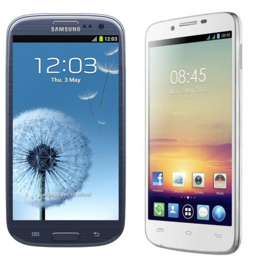 Epic Duel Samsung Galaxy S3 vs. Techno Phantom A