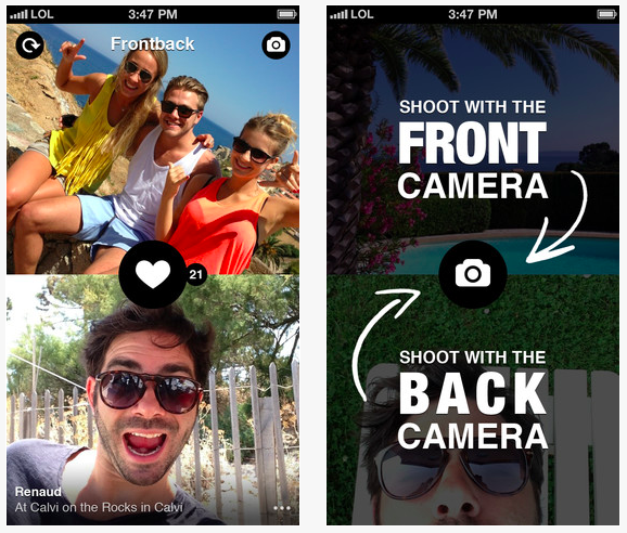 App Alert #FrontBack the ultimate Selfie App Debuts on Android