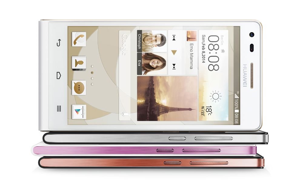 Huawei officially unveils the Super Slim Ascend P7 Mini