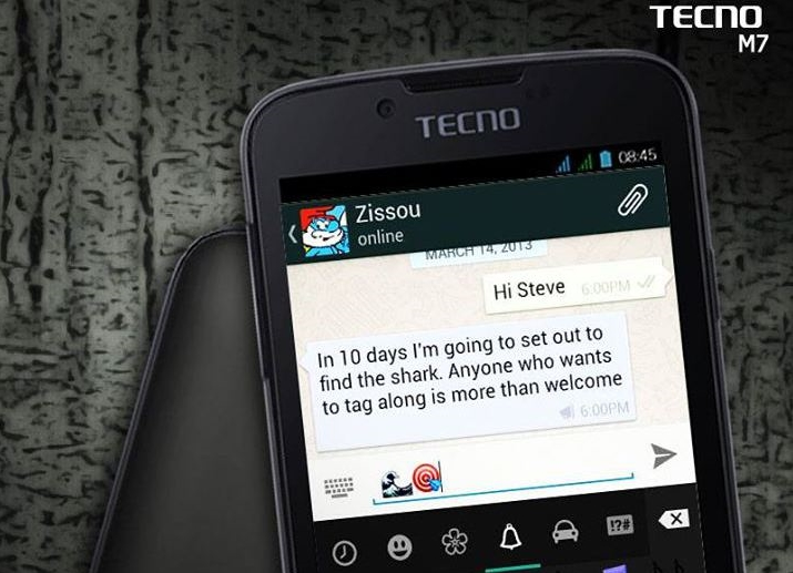 [image] Tecno M7 Price in Kenya