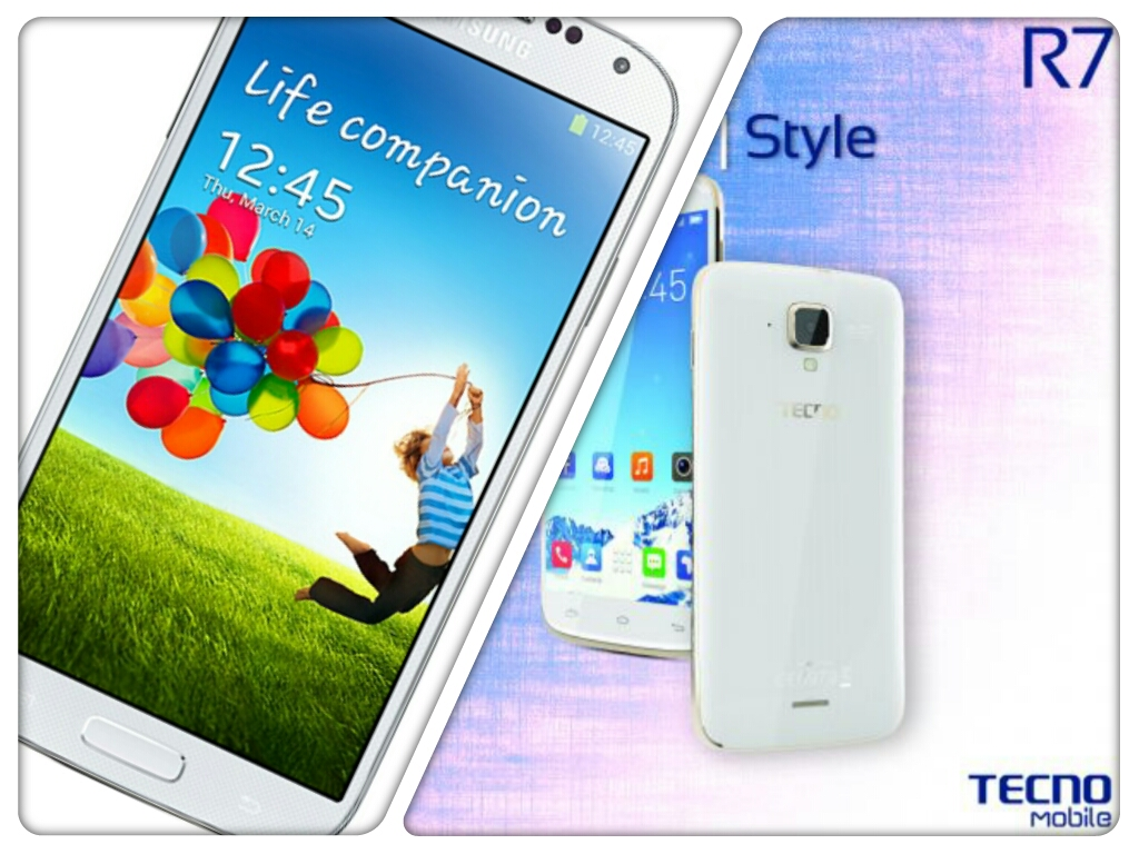 Samsung Galaxy S4 vs. Tecno R7