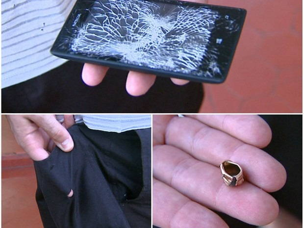 The Nokia Lumia 520 takes a bullet for a Law Enforcement officer