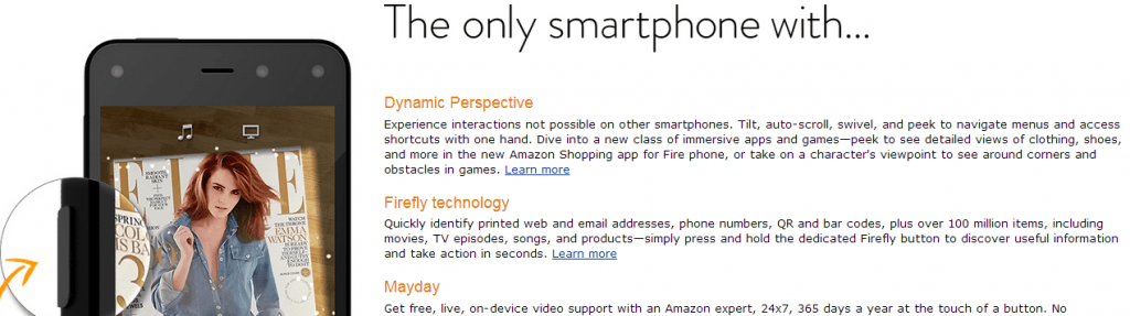 Amazon Fire Phone Projected Sales