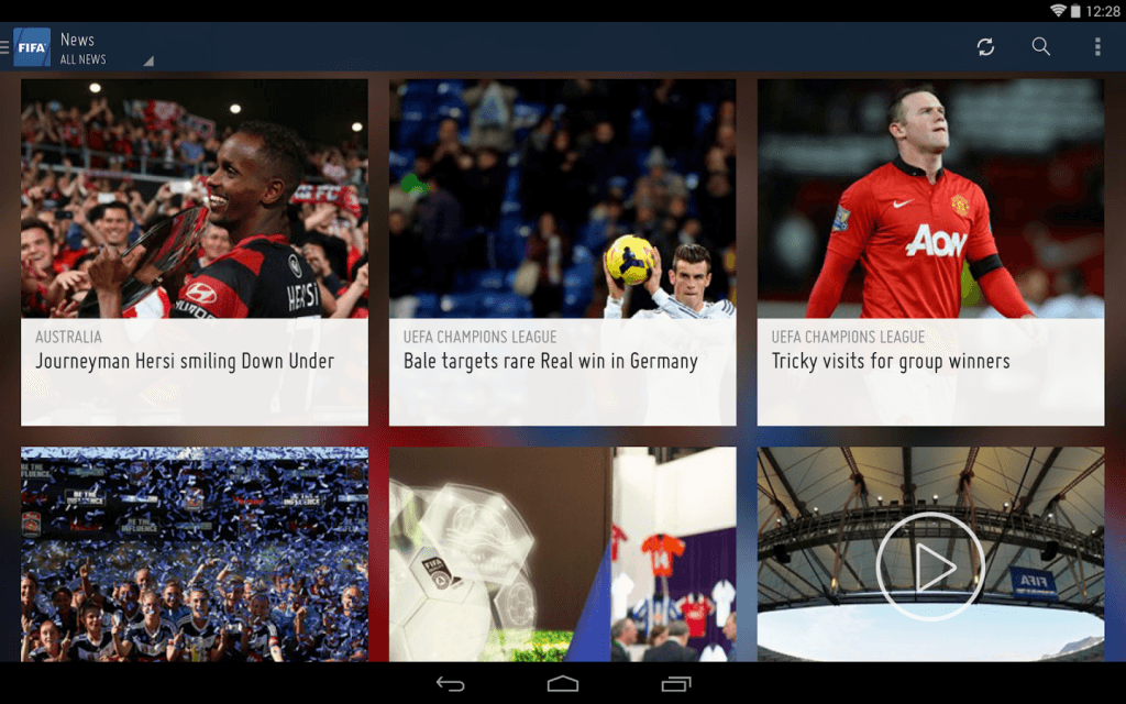 Brazil World Cup 2014 Android Apps