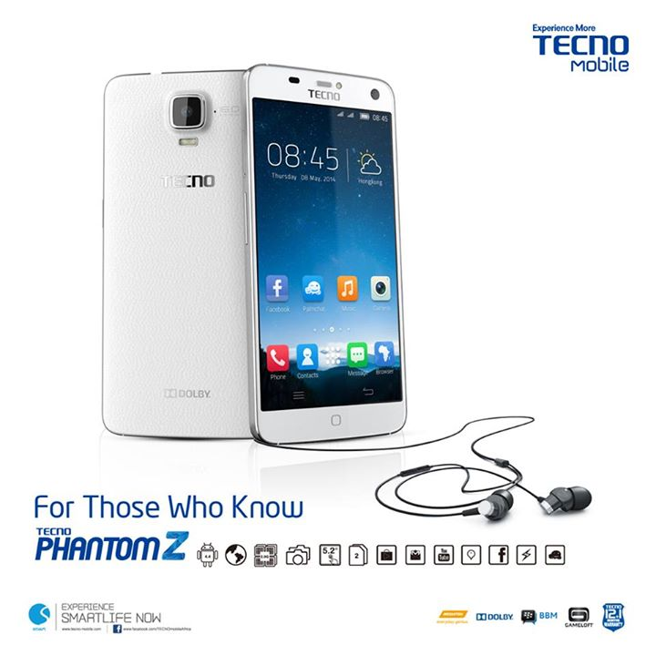 [Image] The Price of Tecno Phantom Z in Kenya
