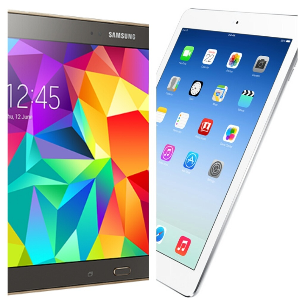 Samsung Galaxy Tab S vs. iPad Air