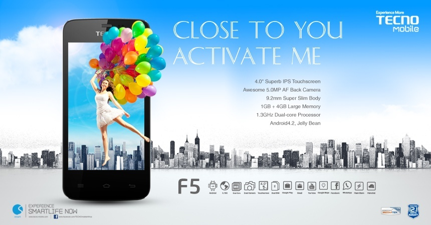 Tecno F5 Specifications Price Kenya