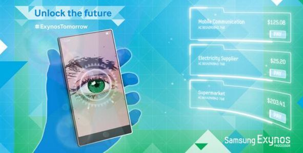 [Image] Samsung Galaxy Note 4 could sport a retina scanner