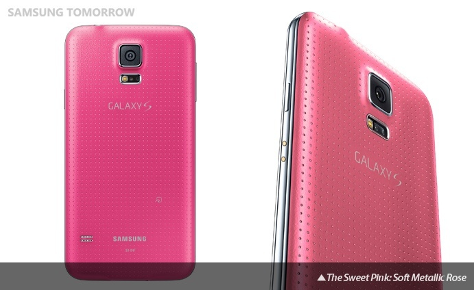 [Image] Why Samsung Galaxy S5 Pink