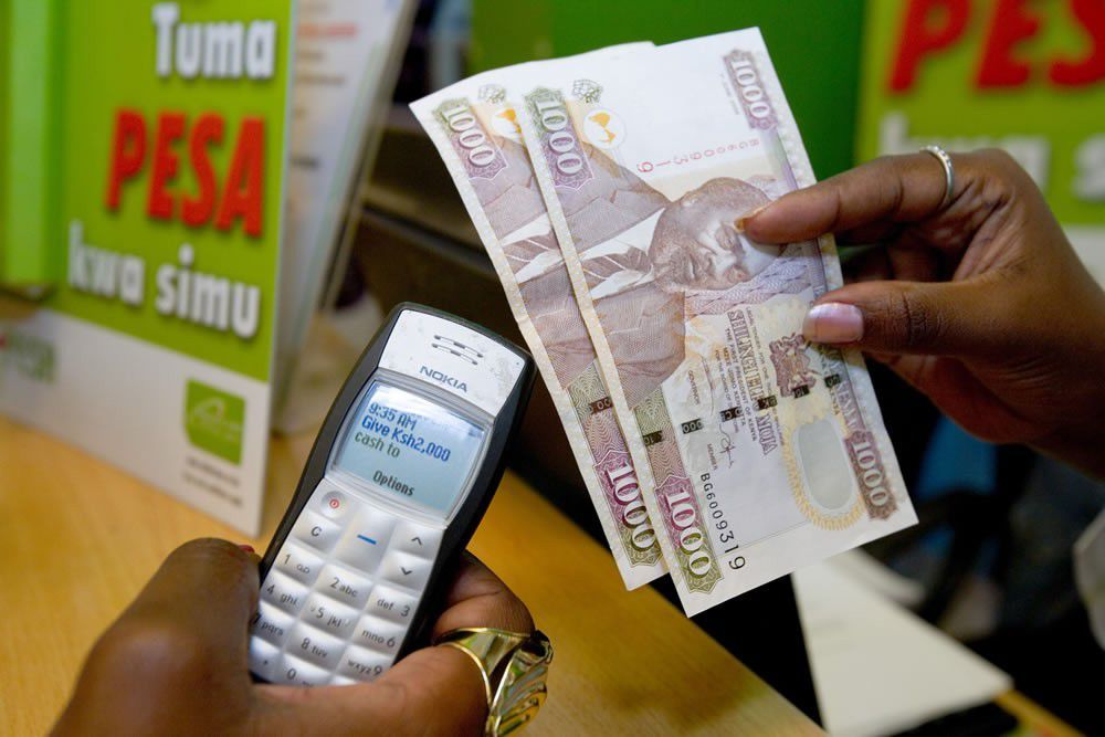 Send Money online to Kenya M-Pesa