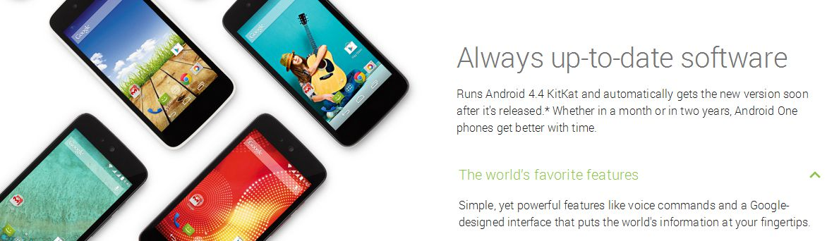 [image] Android One Android 5.0 Lollipop