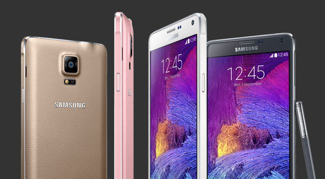 [image] Samsung unveils the Galaxy Note 4 LTE-A