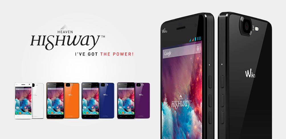 [image] Wiko Highway Technical Specifications
