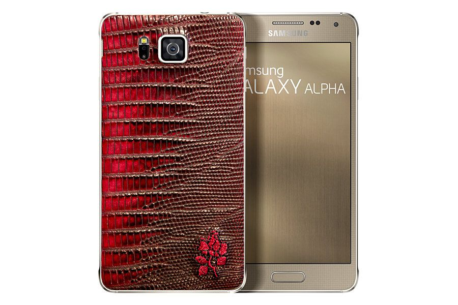 [image] custom leather back limited edition Samsung Galaxy Alpha Price