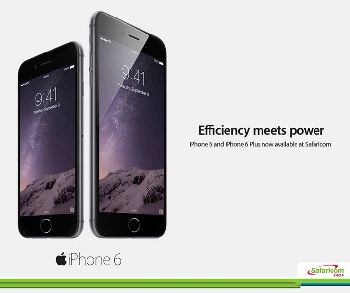 [image] iPhone 6 and iPhone 6+ Price at Safaricom Shop