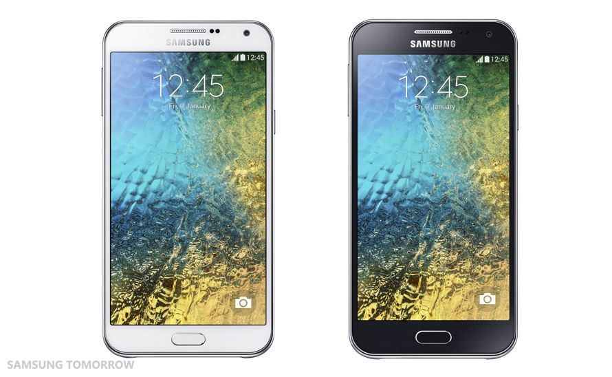 [image] Samsung unveils the Galaxy E7 and Galaxy E5