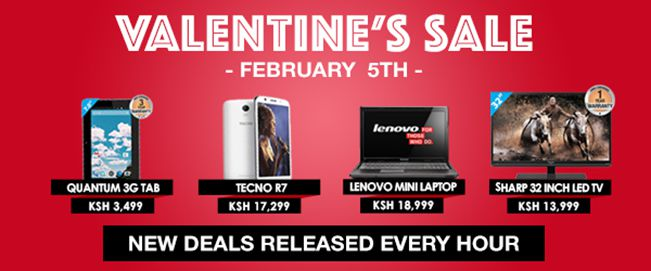 [image] Jumia Kenya Valentine Flash Sale