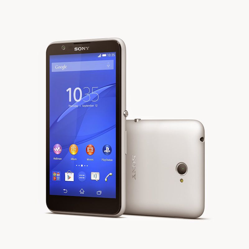 [image] Sony Xperia E4 Technical Specifications