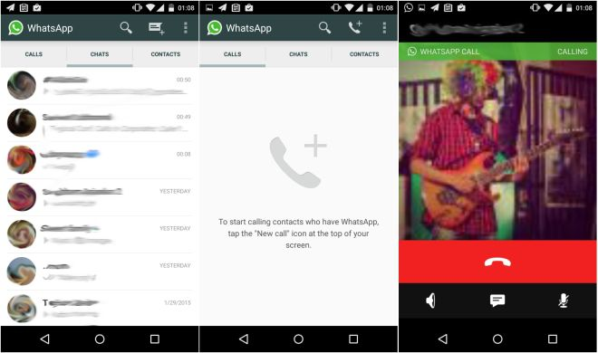 [image] WhatsApp has begun rolling out a voice call feature