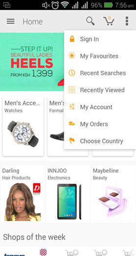 [image]Jumia releases an updated shopping app for Android
