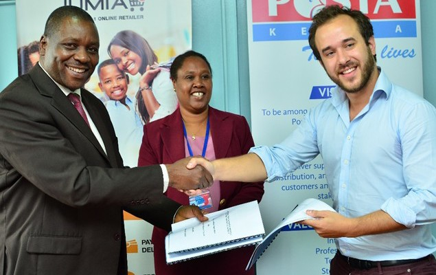 [image] Jumia's partnership with Posta Kenya
