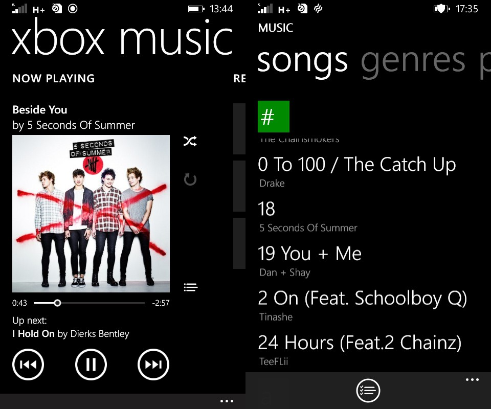 [image] Microsoft Lumia 430 Music Playback