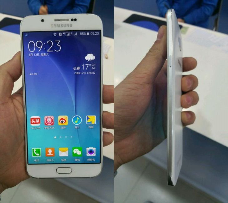 [image] Samsung Galaxy A8 Leak; It's enormous, but ultra-thin