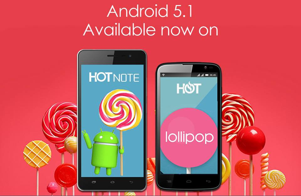 [image] Android 5.1 Lollipop update Infinix Hot Note X551 X507