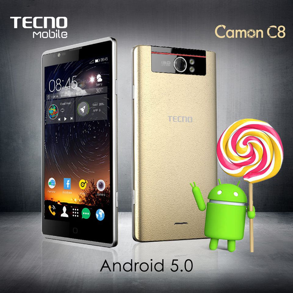 [image] Tecno Camon C8 Best Price in Kenya