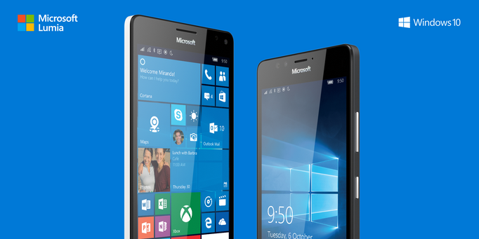Microsoft unveils the Lumia 950 and Lumia 950 XL;
