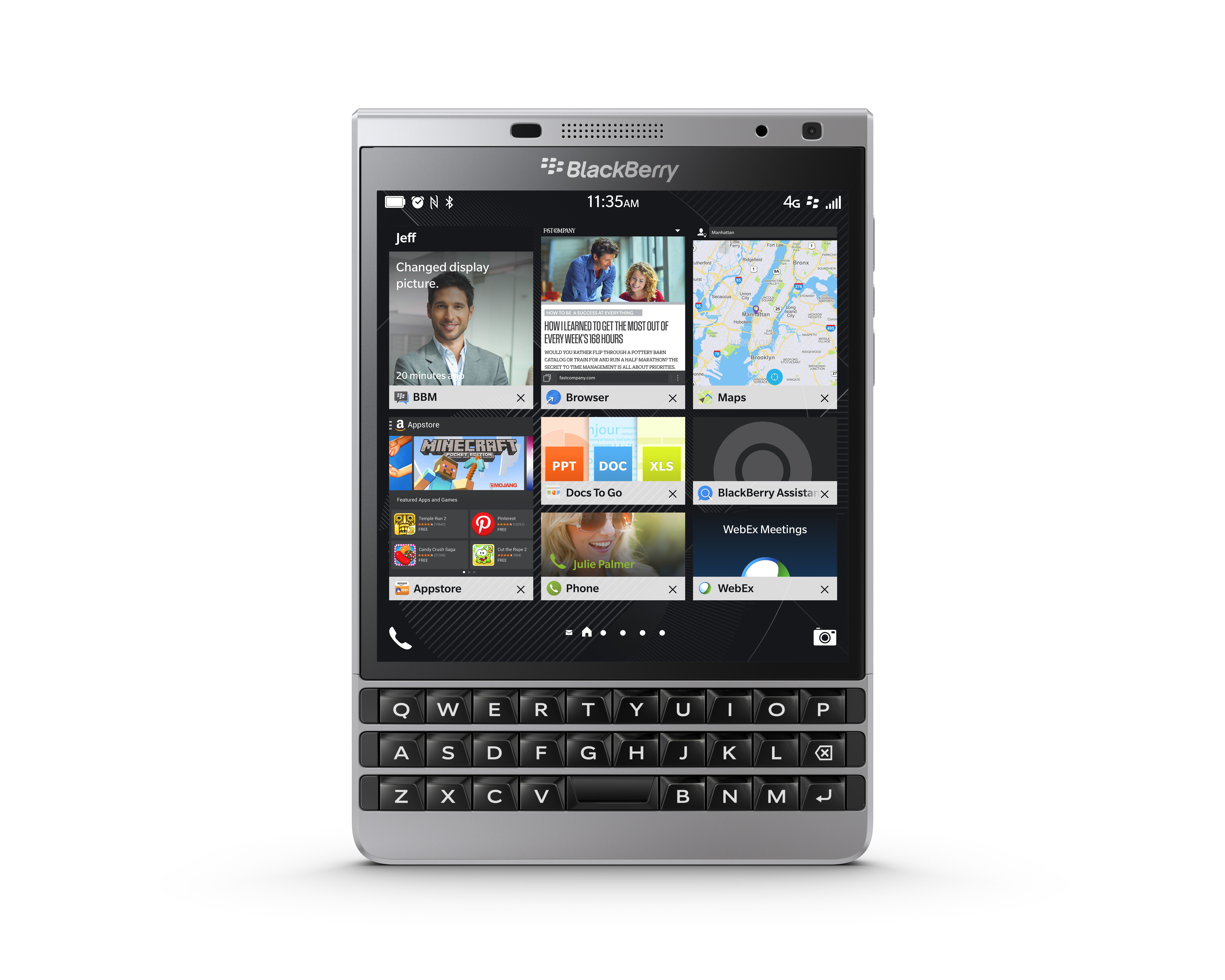 Smartphone Operating Systems BlackBerry