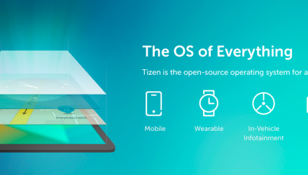Tizen OS beats Blackberry OS to become the Fourth largest OS platform