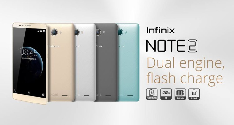 [image] Infinix Note 2 Price in Kenya