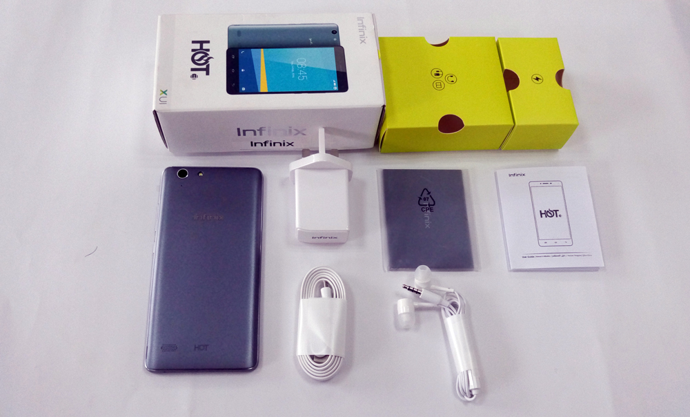[Image] Infinix Hot3 unboxing