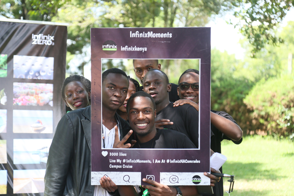 Infinix Moments Moi University