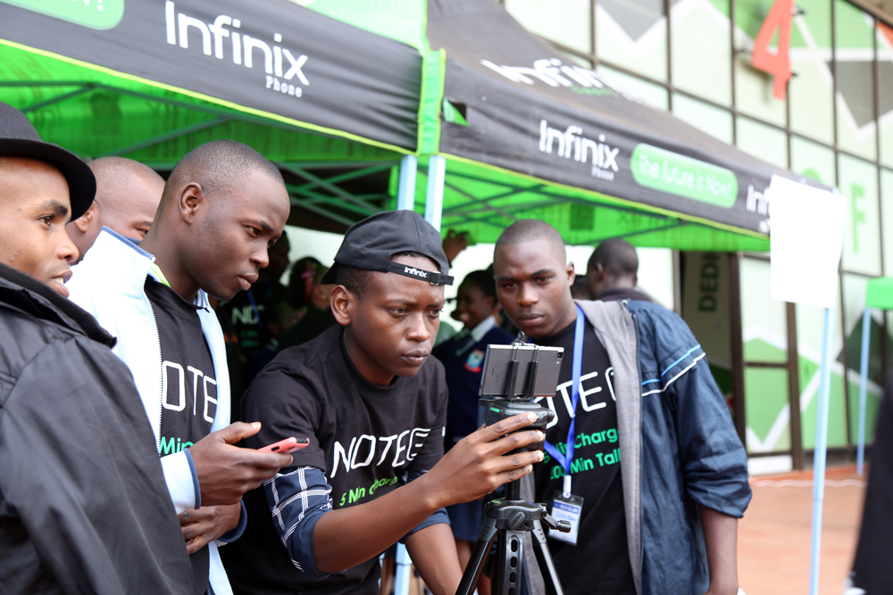 Infinix at Kasarani IYF