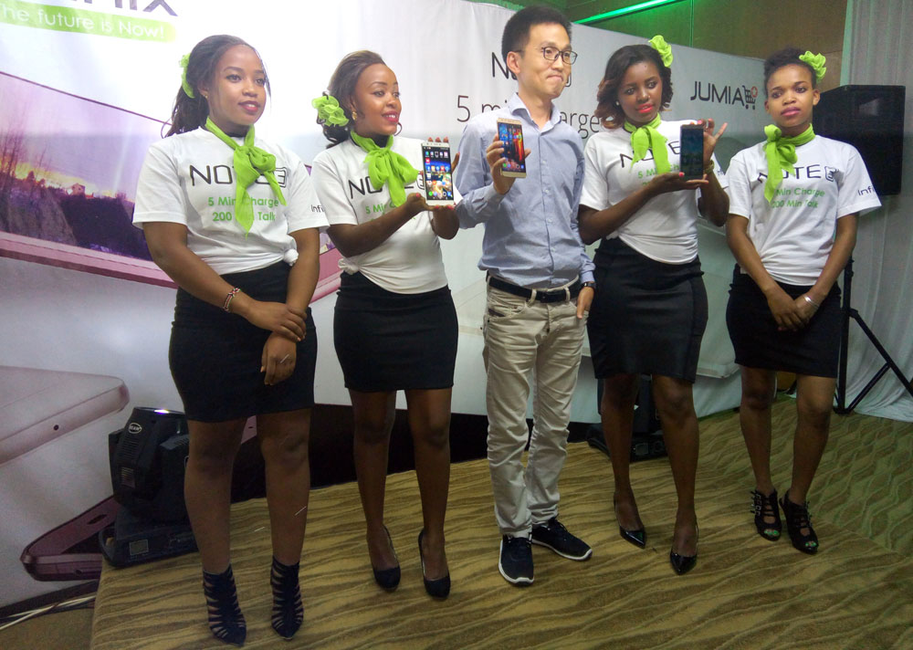 Infinix Note 3 Launch Kenya