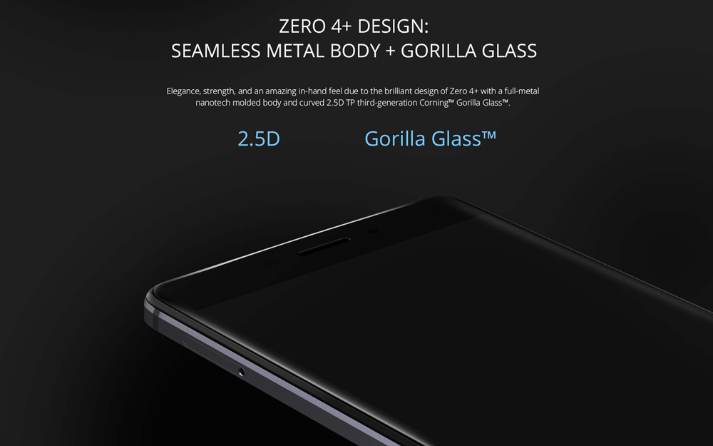 Infinix Zero 4 Display Specifications