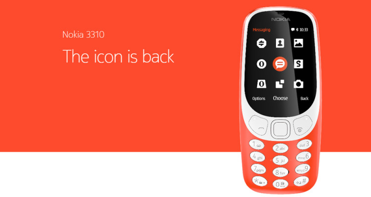 Nokia 3310 (2017) Specifications