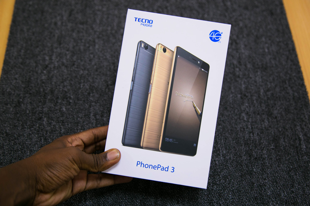 TECNO PhonePad3 Unboxing