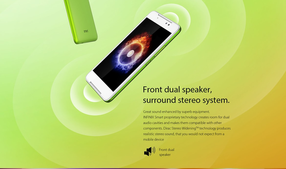 Infinix Smart Specifications
