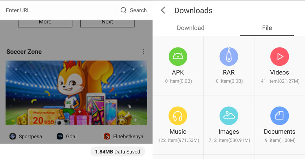 UC Browser Review: The best Mobile Browser for downloads