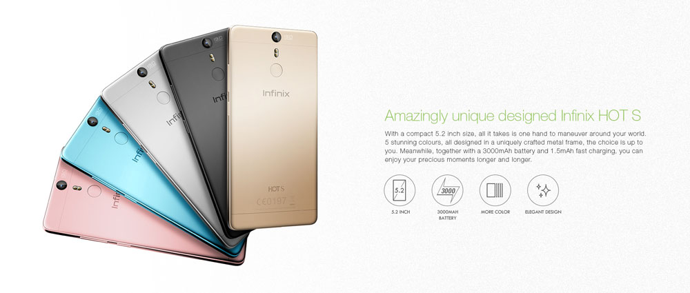 Infinix Hot S (X521): Specifications and Price in Kenya