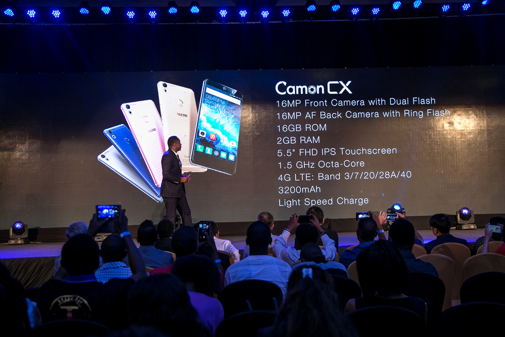 TECNO Mobile launches the Camon CX and CX Air