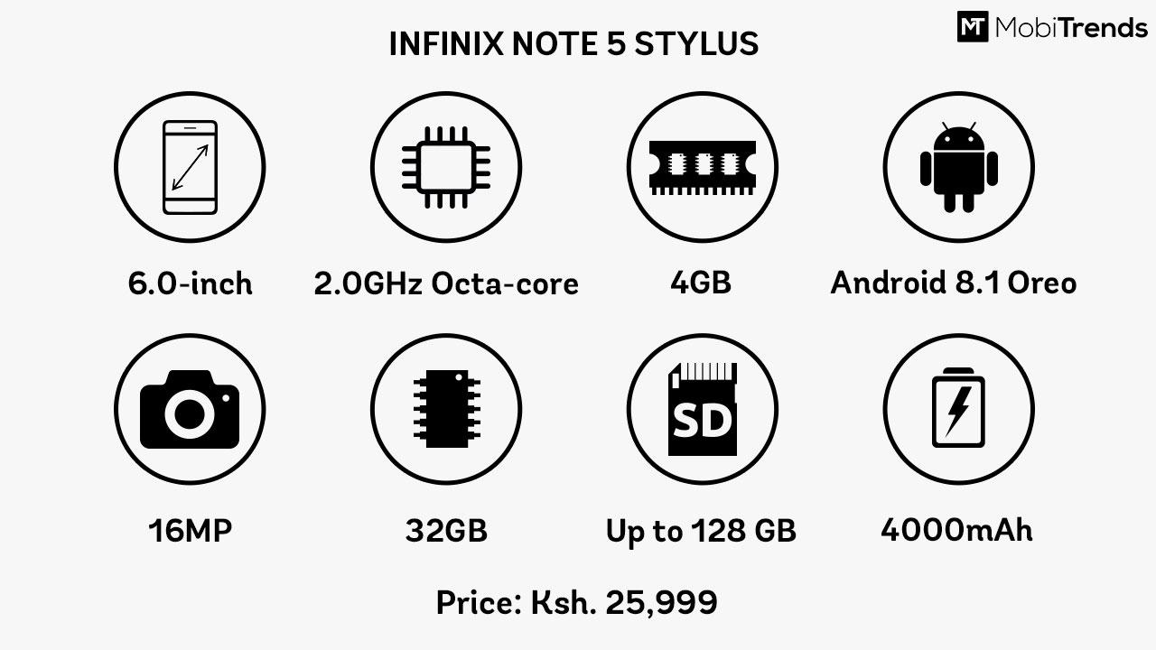 Note 5 Stylus
