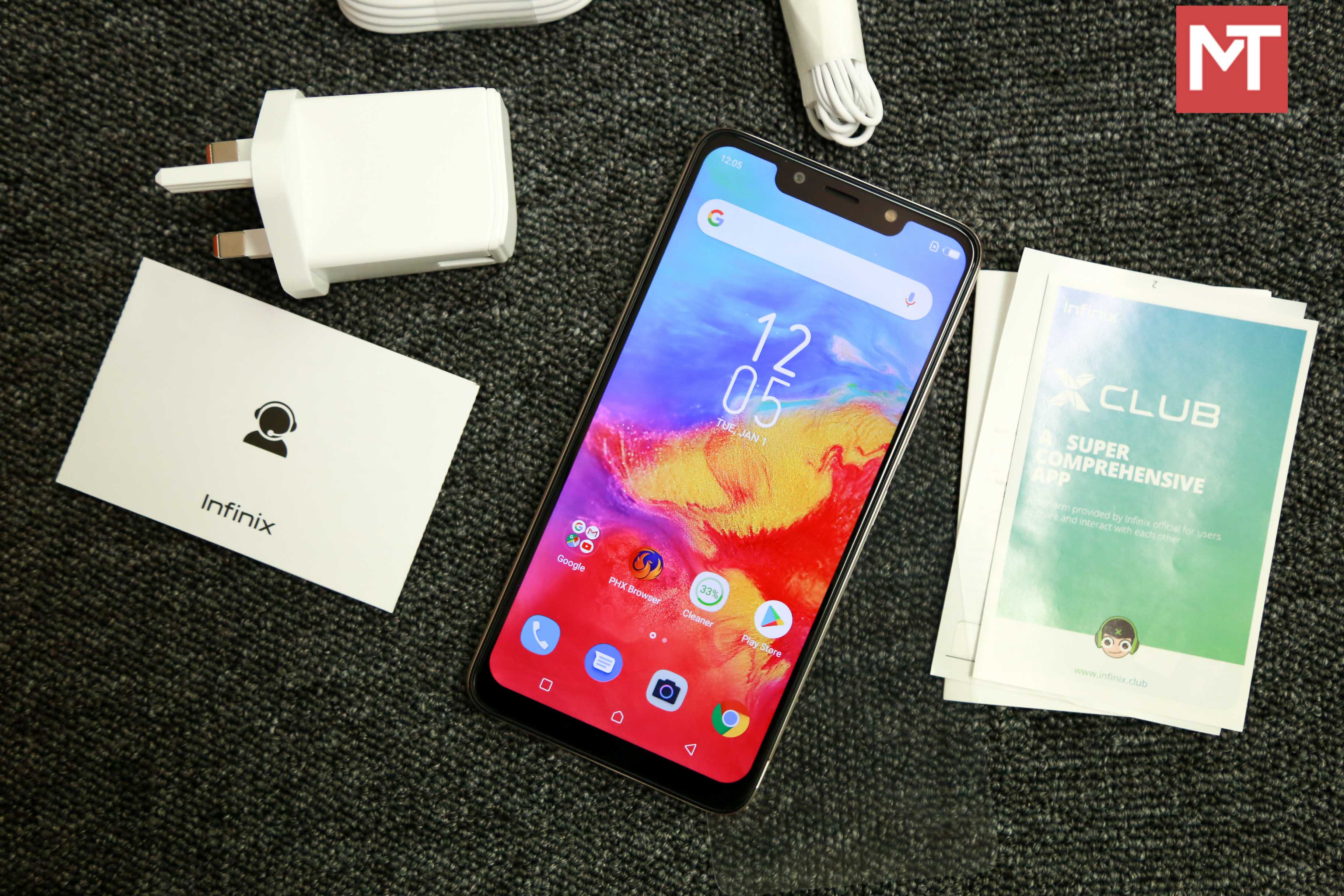 Infinix Hot 7 (X624B): Unboxing and First Impressions